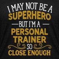 personal-trainer-superhero-shirt-womens-v-neck-tri-blend-t-shirt